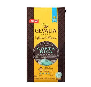 Gevalia Costa Rica Special Reserve Ground Medium Roast Coffee 10oz