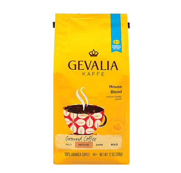 Gevalia House Blend Ground Medium Roast Coffee 12oz