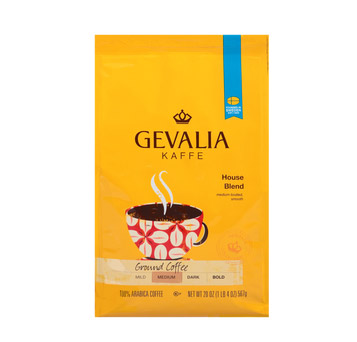 Gevalia House Blend Ground Medium Roast Coffee 20oz