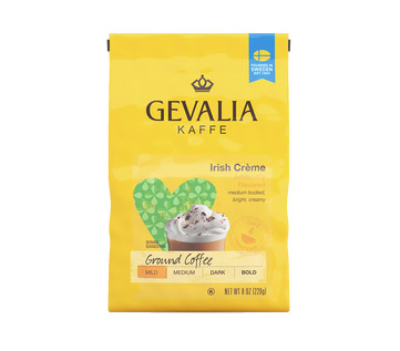 Gevalia Irish Creme Ground Light Roast Coffee 8oz