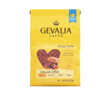 Gevalia Pecan Torte Ground Light Roast Coffee 8oz