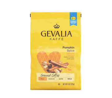 Gevalia Pumpkin Spice Ground Light Roast Coffee 8oz