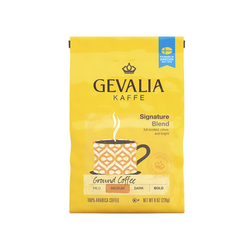 Gevalia Signature Blend Ground Medium Roast Coffee 8oz