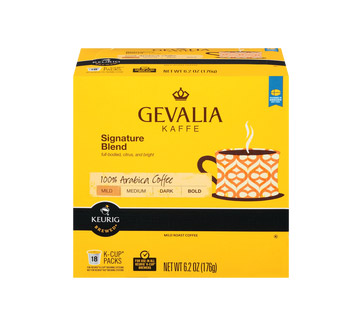 Gevalia Signature Blend Light Roast Kcups 18ct