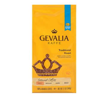 Gevalia Traditional Roast Ground Light Roast Coffee 12oz
