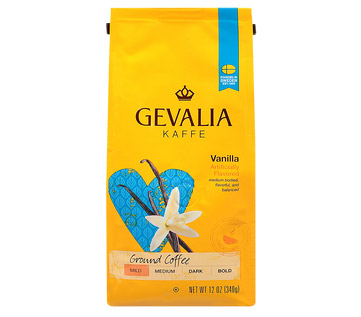 Gevalia Vanilla Regular Ground Light Roast Coffee 12oz