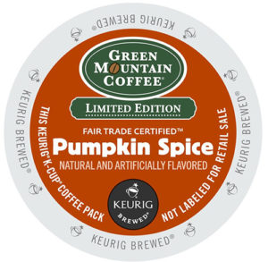 Pumpkin Spice Fair Trade Seasonal K Cups