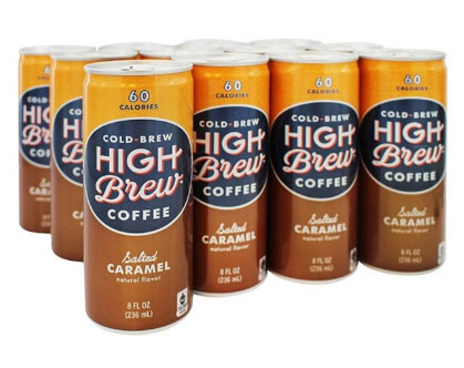 High Brew Coffee Salted Caramel Cold Brew Coffee 8oz 12ct