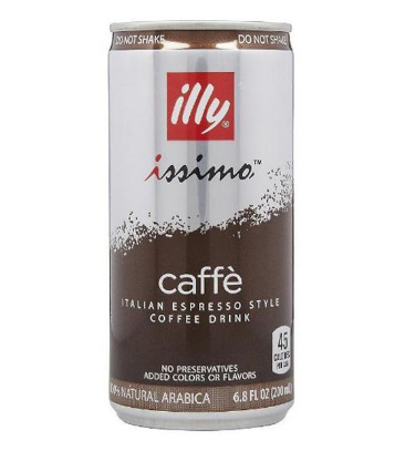 illy issimo Italian Style Espresso Iced Coffee 6.8oz Cans 12ct