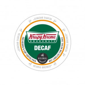 Decaf Krispy Kreme Medium Roast K Cup Review