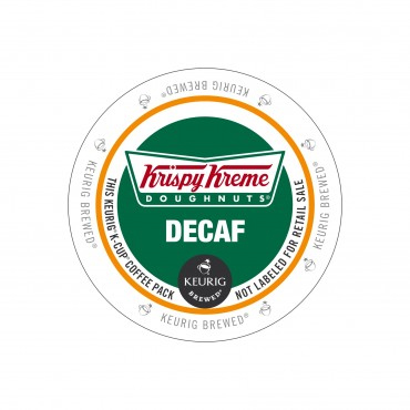 Krispy Kreme Decaf Sumatra Light Roast KCups 96ct
