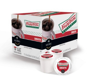 Krispy Kreme Smooth Blend Light Roast KCups 24ct