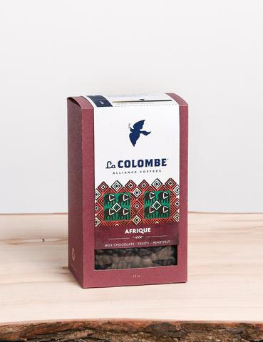 La Colombe Afrique Whole Bean Dark Roast Coffee 12oz
