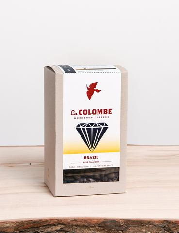 La Colombe Brazil Blue Diamond Whole Bean Medium Roast Coffee 12oz
