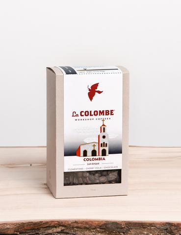 La Colombe Colombia San Roque Whole Bean Light Roast Coffee 12oz