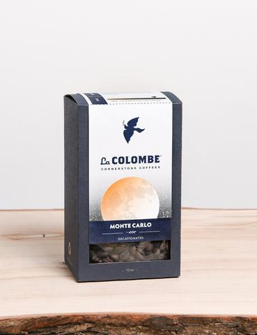 La Colombe Decaf Monte Carlo Whole Bean Dark Roast Coffee 12oz