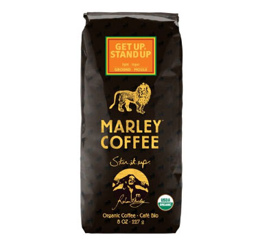 Marley Coffee Organic Get Up Stand Up Ground Light Roast Coffee 8oz