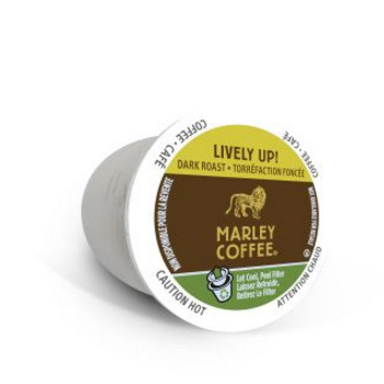 Marley Coffee Lively Up Coffee Dark Roast Coffee Pods 12ct