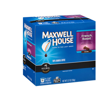 Maxwell House French Roast Dark Roast K cups®  18ct