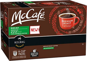 McCafe Decaf K cups®  Review – A Surprises for the Ages