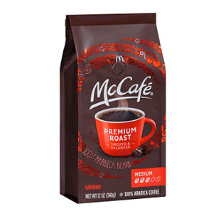 McCafe Premium Ground Medium Roast Coffee 12oz