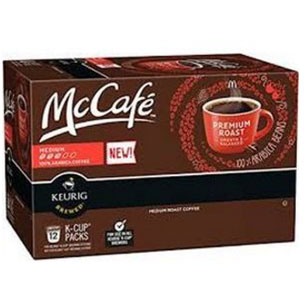 McCafe Premium Medium Roast Coffee K cups®  12ct