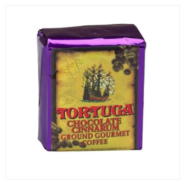 Tortuga Chocolate Cinnarum Ground Light Roast Coffee 96oz