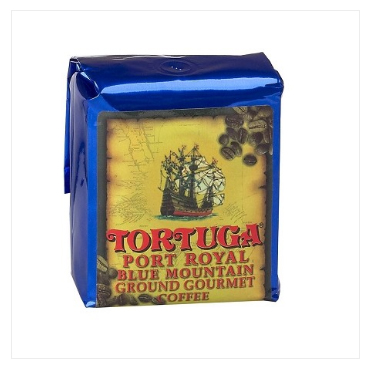 Tortuga Port Royal Blue Mountain Ground Medium Roast Coffee 16oz