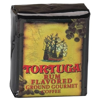 Tortuga Rum Ground Light Roast Coffee 16oz