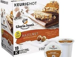 Gloria Jean's Hazelnut Medium Roast K cups®  18ct
