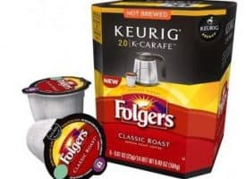 Folgers Classic Medium Roast K-Carafe Pods 8ct