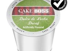 Cake Boss Decaf Dolce De Leche Medium Roast K cups®  24ct