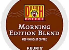 Diedrich Coffee Morning Edition Medium Roast K cups®  24ct