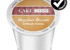 Cake Boss Hazelnut Biscotti Medium Roast K cups®  24ct