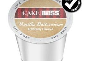 Cake Boss Vanilla Buttercream Medium Roast K cups®  24ct