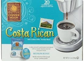 Copper Moon Costa Rica Blend Medium Roast Single Cups Aroma Cups 20ct