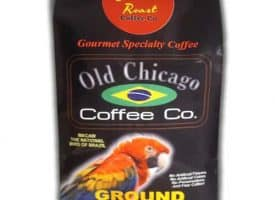 Old Chicago Coffee Brazilian Ground Light Roast Coffee 10oz