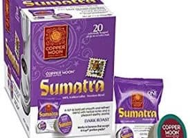 Copper Moon Sumatra Dark Roast Single Cups Aroma Cups 20ct