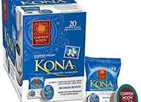 Copper Moon Kona Blend Medium Roast Single Cups Aroma Cups 20ct
