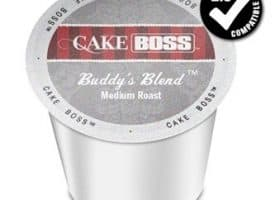 Cake Boss Buddy's Blend Medium Roast K cups®  24ct