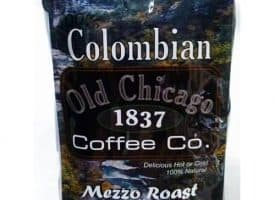 Old Chicago Coffee Colombian Ground Medium Roast Coffee 10oz
