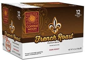Copper Moon French Roast Dark Roast Single Cups Aroma Cups 12ct