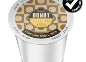 Authentic Donut Shop Blend Chocolate Chip Cookie Medium Roast K cups®  24ct