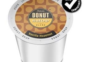 Authentic Donut Shop Blend Vanilla Hazelnut Medium Roast K cups®  24ct