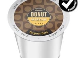 Authentic Donut Shop Blend Original Roast Dark Roast K cups®  24ct