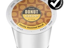 Authentic Donut Shop Blend Decaf Vanilla Hazelnut Medium Roast K cups®  24ct