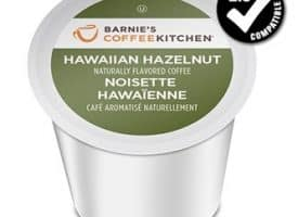 Barnie's Coffee Kitchen Hawaiian Hazelnut Medium Roast K cups®  24ct