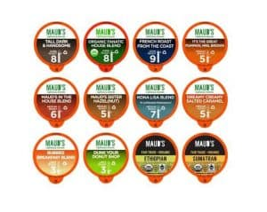 Maud's Righteous Blends Coffee Variety Box Recyclable Coffee Pods 136ct