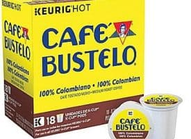 Cafe Bustelo Colombian Medium Roast K cups®  18ct