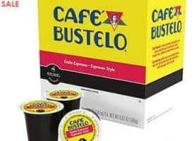Cafe Bustelo Espresso Dark Roast K cups®  24ct